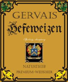 eines der Logos des Getränkemarktes Gervais
