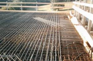 Arbeiten der DAG BAU - Eisenflechterei