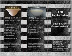 LED Lichtschalen