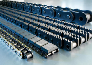 Antriebsketten in sämtlichen DIN/ISO/ANSI-Maßen