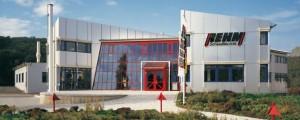 Das Gebäude der Rehm GmbH & Co. KG