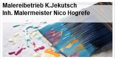 Malereibetrieb K.Jekutsch Inh. Malermeister Nico Hogrefe