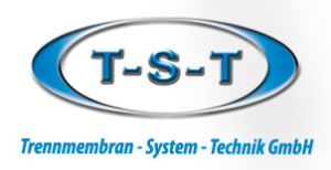 Logo der T-S-T Trennmembran-System-Technik GmbH