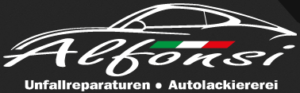 Logo der Autolackiererei Alfonsi